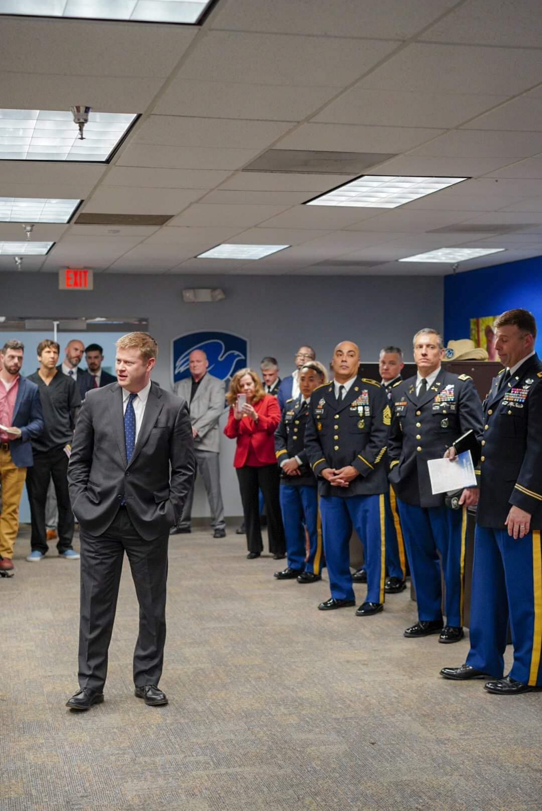 Undersecretary of the Army  visits The Mission Continues