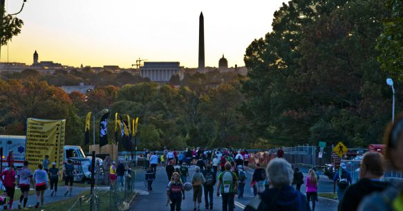 Team Mission Continues Cruises at Marine Corps Marathon