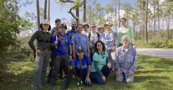 Veterans Day: Miami Platoon Working on Hurricane Irma Recovery