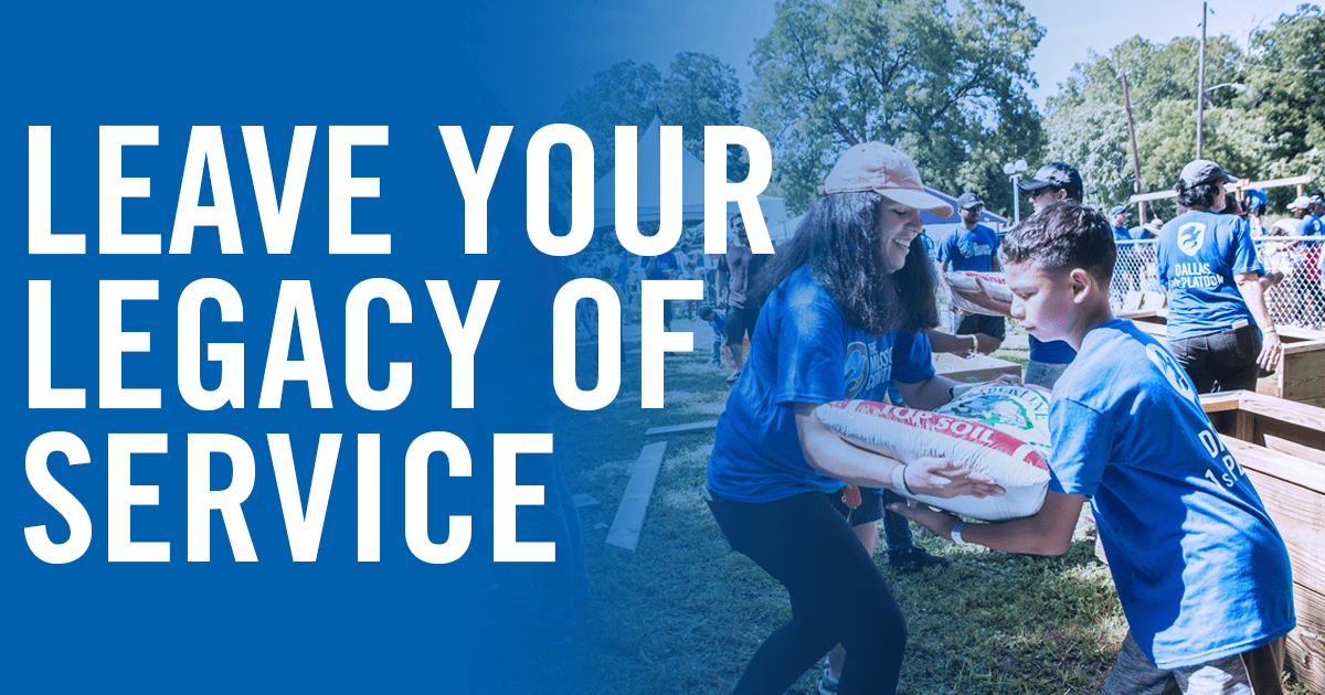 This January, Build Your #LegacyOfService