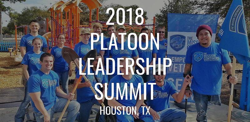 Houston Hosts Platoon Leadership Summit 2018