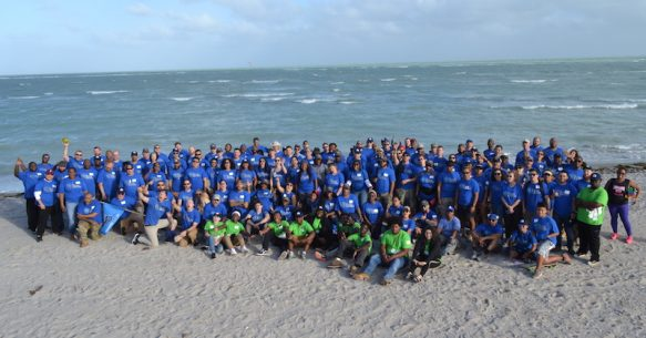 Alpha Class of 2018 Helps Preserve Miami Park Post-Irma