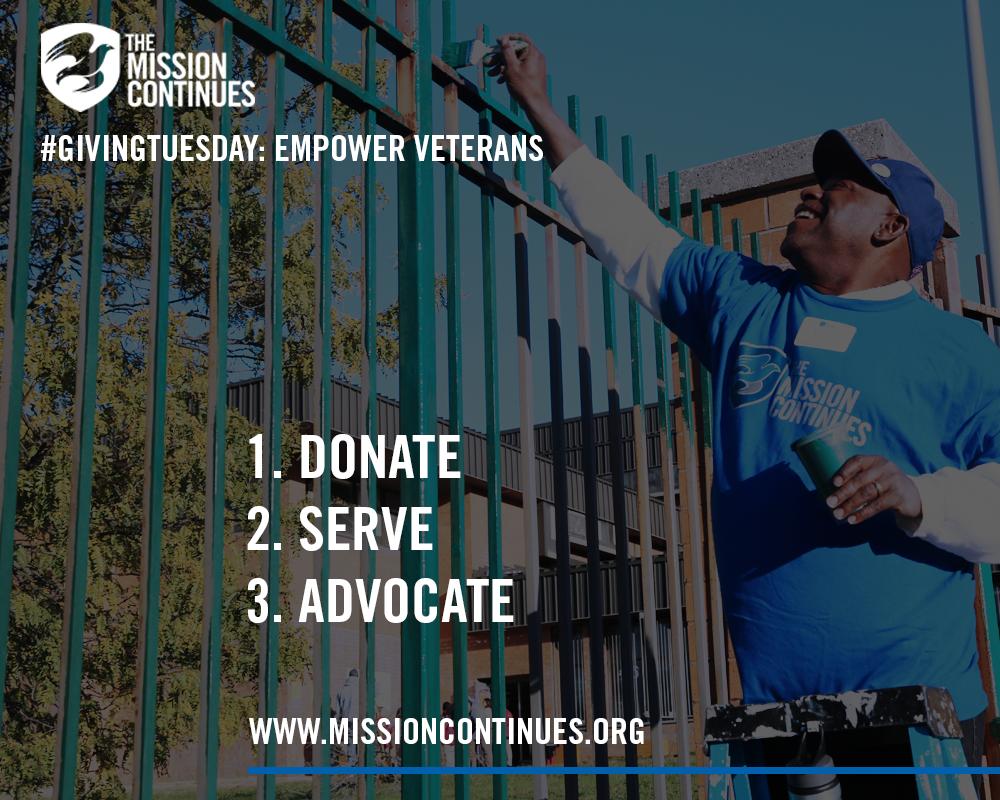 #GivingTuesday: Empower Veterans