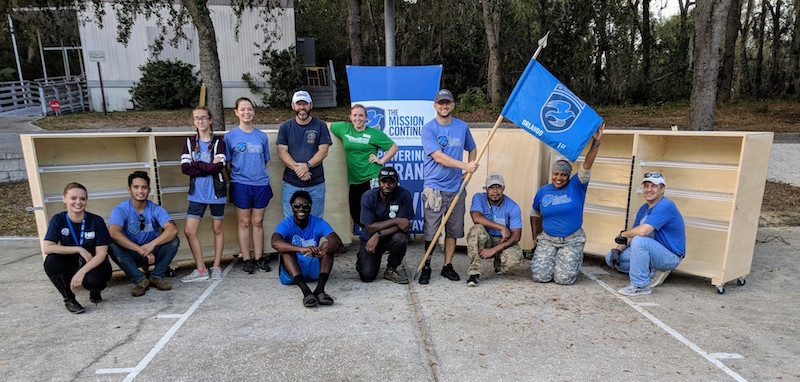 The Mission Continues Orlando volunteers