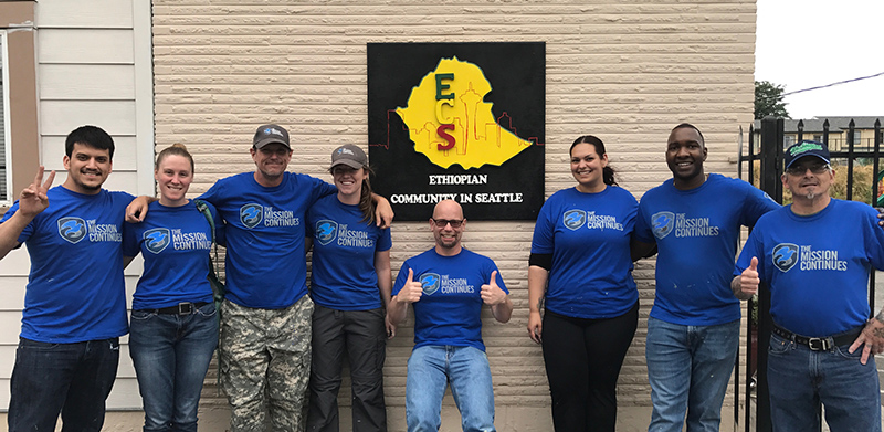 Seattle 1st Service Platoon, The Mission Continues