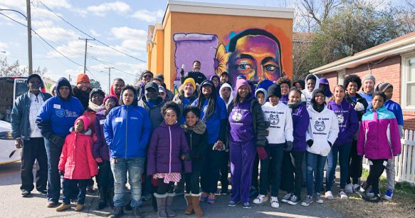 Veterans With The Mission Continues Honor Martin Luther King Jr. Through Civic Engagement And Community Service