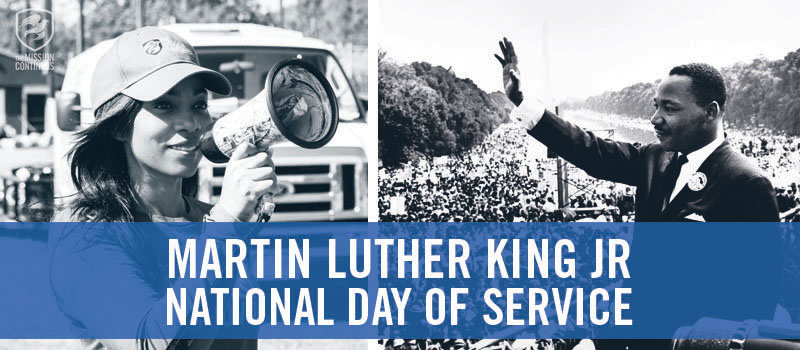 Our Values in Action: Living up to Dr. King's #LegacyofService