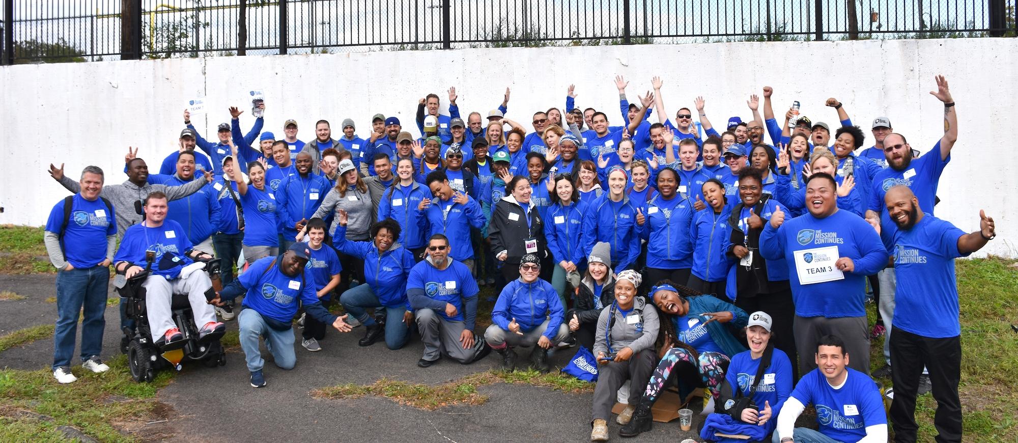 New Program, Service Leadership Corps Kicks Off in Newark