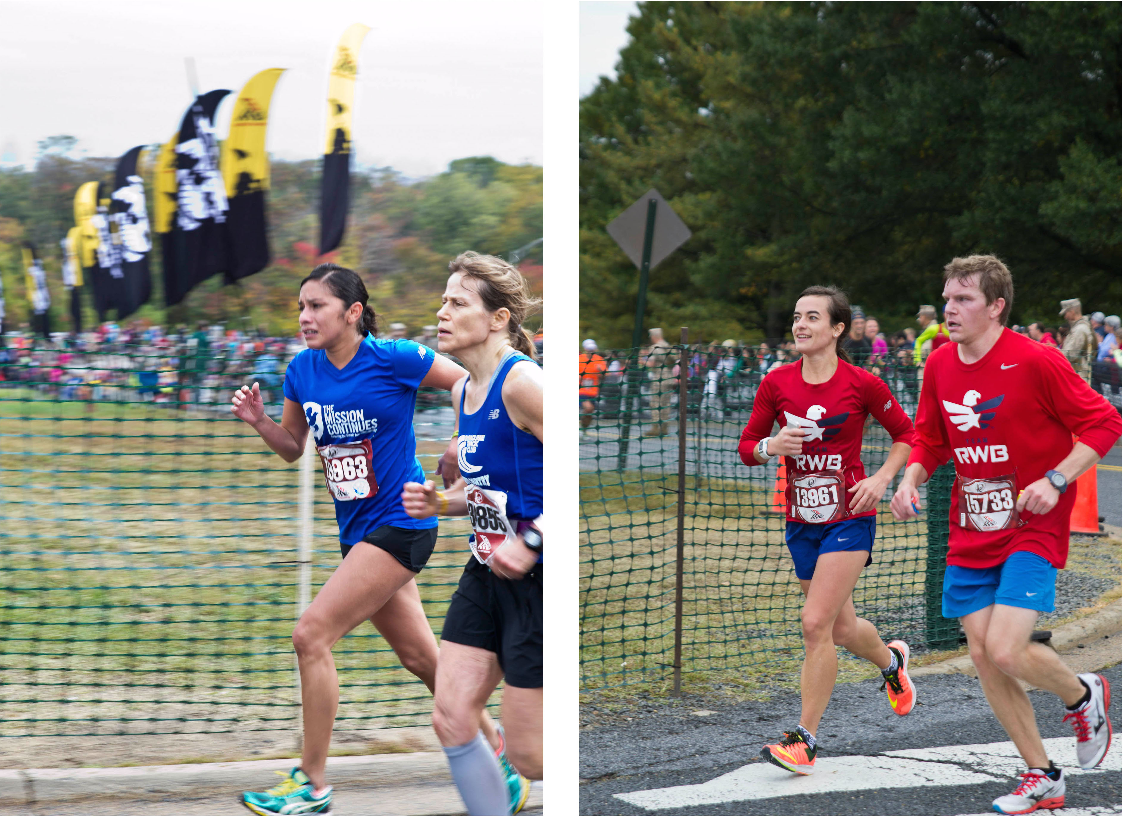 Team Mission Continues Takes the Marine Corps Marathon In Stride