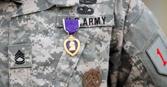 On Purple Heart Day, Honoring Continued Service