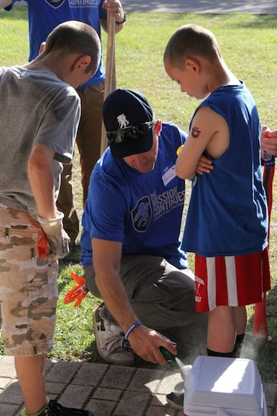 The Mission Continues and Wounded Warrior Project Team Up to Help Kids in Need